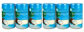 Bulk 6 x 1 Litre Extra Virgin Coconut Oil