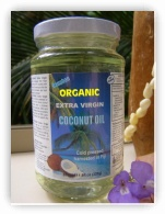 Extra Virgin Coconut Oil 350ml in Glass