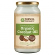 1 Litre Organic Extra Virgin Coconut Oil in Glass (878g)